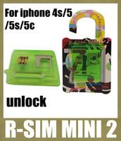 Wholesale r sim mini r sim mini2 unlock sim card for iphone c s iphone4s phone unlocking equipment for ios VS r sim pro rgknse OTH027