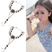 acrylic stone bangles - Fashion Finger Ring Bracelets Jewelry Acrylic Stones Bracelet Hot Women Bangle Best Gift P
