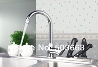 best real estate - Construction Real Estate Best Price Kitchen Chrome Basin Sink Single Handle Deck Mounted Vanity Vessel MF Mixer Tap Faucet