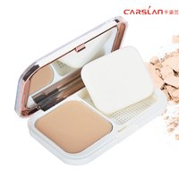 anti shine powder - China s famous brand Carslan Compact Pressed Powder Foundation Stay Shine Translucent Light Cosmetic Makeup Powder breathing