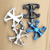 Wholesale High Quality Aluminum Alloy Mountain Bike Pedals Ultralight Bicycle Pedal MTB Road Cycling Pedal