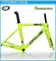 Wholesale 2014 Cipollini Bond carbon frame Fluorescent effect road bike frame bicycle framest MCipollini Bond framest