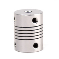 Wholesale New Practical x mm CNC Motor Jaw Shaft Coupler mm To mm Flexible Coupling