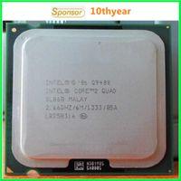 Wholesale Q9400 Q9550 Intel Original desktops cpu Core Quad Q9400 Ghz M Cache Mhz LGA Quad core