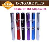 Cheap 50pcs lot Itaste Ep vv vtr E cigarette Ep Innokin Itaste EP the innokin itaste ep pen style design with iclear 10 atomizer