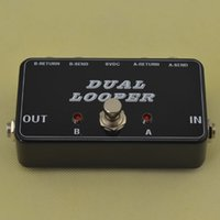 Wholesale New A B Box Loop Selector Switcher soft switch true bypass looper IN STOCK