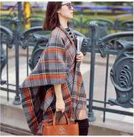 Wholesale 2015 Promotion Special Offer Spot Wool Bufandas Winter Scarf European Style Big Split Oversized Large Square Scarf Shawl Scarves