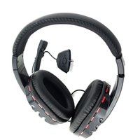 Wholesale New Headset Headphone w mic for Xbox Live Wireless Controller Black Red