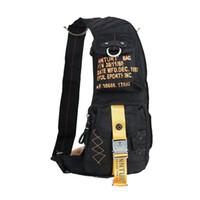 backpacks biking - Fashion Men Waterproof Polyester Backpack Men s Shoulder Sling Pack Bag Outdoor Sport Hiking Multiple pockets Biking Unbalance