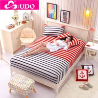 Wholesale You Duo Home Textile Cotton Super Soft High Quality Elastic Bed Sheets Reactive Printing Mattress Covers CM003