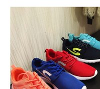 Wholesale Mail the new Men and women casual lovers shoes Sports shoes breathable light fashion students wear non slip shoes Running shoes