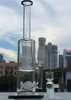 new tires - New Design Heady Glass Water pipes Glass bong with white tire and inliner perc with amazing function including Ceramic domeless Nail