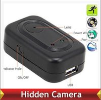 Cheap Travel 4GB USB Charger Camera 1280 * 960 Hidden Spy Camera Mini DV DVR Recorder Detective camera
