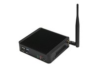 Wholesale HCIPC B101 HCSJ19NA Intel RJ1900 Dual core CPU G G G G G G G wifi for selection VGA HDMI barebone system