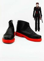 adam shoes - 2015 Real Special Unisex Offer Freeshipping Ankle Pointed Toe Platforms Boots Rwby Adam Taurus Cosplay Costume Boot Shoes Shoe