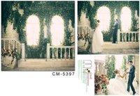 Wholesale 150x200cm photography backdrops wood backdrop photography Large windows leafy wedding backgrounds for photo studio CM