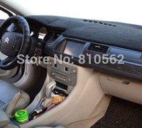 auto sega - Car instrument mat suit for C2 C4 C4L C5 New Elysee Sega auto instrument pad Auto Dashboard Avoid light pad