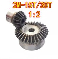 Wholesale 1 ratio M T T Degree precision gear drive bevel gear M teeth with30 teeth set