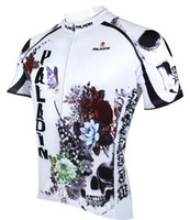 Wholesale New Cycling Bike Short Sleeve Top Shirt Clothing Bicycle Sportwear Jersey S XL flower skull CC5082