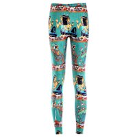 belle fitness - Women spandex pencil pants sexy Egypt belle patterned d digital printed leggings women fitness leggings FG1510