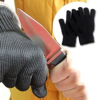 Wholesale 1 pair Kevlar Working Protective Gloves Cut resistant Anti Abrasion Safety Gloves Cut Resistant east gloves wedding A5