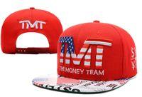 Wholesale 2015 TMT hats The Money Team Snapback hats Men baseball caps adjustable football sports hat cap for men and women