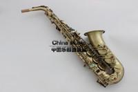 Wholesale ALL NEW Selmer E flat alto saxophone instruments alto saxophone antique copper pipe