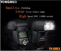 Wholesale YONGNUO TTL Flash Speedlite YN500EX with HSS for Canon