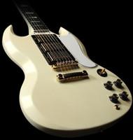 guitar - 2014 Newest Cream SG Pickups Custom Electric Guitar OEM High Quality