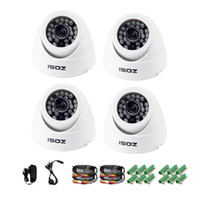 vandal proof ir dome camera - ZOSI TVL HD CCTV Security Camera LEDs Indoor Dome Day Night IR Surveillance Camaras Kit camaras de seguridad