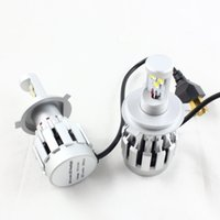 auto licenses - 2pcs LM K H4 LED Headlight Bulb W Auto Led Headlamp H4 Hi Low Beam Car Light Source Fog Light FreeShipping
