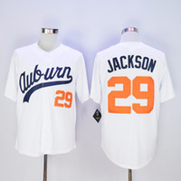 auburn tigers baseball - Men s cheap Auburn Tigers Throwback VINTAGE Baseball jersey White Bo Jackson Auburn White Tigers University Jerseys