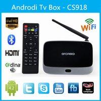 Cheap CS918 MK888 Smart tv box Android 4.2 TV Box RK3188 Quad Core 2GB+8GB Mini PC Smart TV Media Player Wifi Antenna RJ45