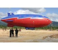 Wholesale 13ft m Long Inflatable Zeppelin Helium Airship Advertising Blimp Sky Flying for Events