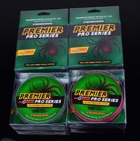 Wholesale PREMIER PRO Series Braid Fishing Line Strand Spectra Ocean Rock lines m PE wire Fiber From Japan lb lb