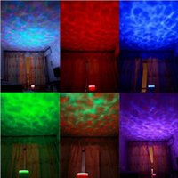 Wholesale Delicate x x mm LED Light Lamp Colorful Ocean Wave Night Floor Lamps High Quality Bedroom Lamps