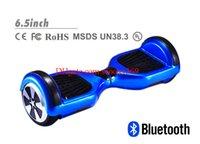 Wholesale 2016 inch high quality two wheel balancing smart electric balance scooter with anti crash rubber strips and blue tooth