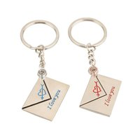 Wholesale shipping free Cupid Heart Pattern Lover Couple Keychain