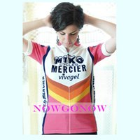 Wholesale 2016 women cycling jersey bike clothing wear short sleeve girl mtb road riding ropa ciclismo cool NOWGONOW tour lovely pink