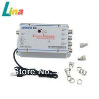 Wholesale 220V in SB FL9 CATV db Adjustable Gain Cable TV Signal Amplifier