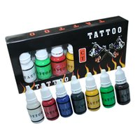 Wholesale hot sale high quality Tattoo ink set Supplies ml COLOR TATOO INK OZ