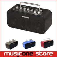 aux amp - AROMA Colourful Mini W Digital Guitar Amp Metal Cabinet Effect with AUX in and Line out MU1238