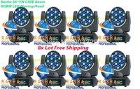 beam lighting disco - 8X W RGBW Cree LED Moving Head Beam Moving Head Light Beam Light Disco Light