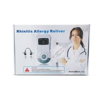 allergies snoring - Nose Care New Rhinitis Allergy Reliver Pulse Rhinitis Therapy Massager Machine rhinitis treatment monitor anti snore apparatus