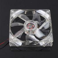 Wholesale 1Pcs mm Fans LED Blue for Computer PC Case Cooling