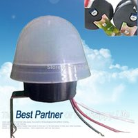 Wholesale New Photo Control Sensor Switch v Street Light Lamp Controller Sensitivity Adjustable A W Rainproof order lt no track