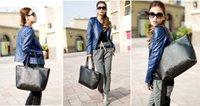 Precio de Las mujeres baratas bolsas de cuero negro-Barato Bolso de las Mujeres Bolso de mano de Punto Negro de la PU de Cuero de Corea del Estilo 1PCS Lote Envío Gratuito 0625B11