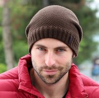 balaclava wool - Grasping Balaclavas Outdoor Sports Super Warm Ear Wool Hat Men s Fashion Knit Cap Sell Like Hot Cakes