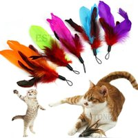 Wholesale Feather REFILLS for Da Bird feather wand cat toy toys refill