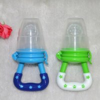 Wholesale Baby Pacifier Clips Dummy Soother Pacifier Nipple Feeder Feeding Pacifier Fresh Fruit Juice Milk Shake Safe Supplies VT0150 Salebags